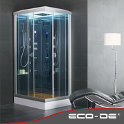 Shower Cabin with sauna ECO-DE® Mod: Inspiration ECO-9816 115x85x225cm