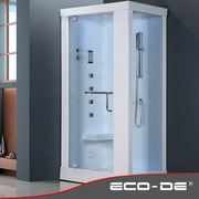 Shower Cabin with sauna ECO-DE® Mod: Infinity ECO-8205 120x80x228cm