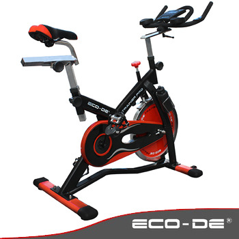 Imagen principal de SPINNING BIKE HIGH RANGE ECO-DE® ECO-819 TRAINER PRO