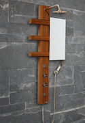 Shower Panel 'Qatar' thermostatic ECO-8059