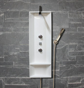 Shower Panel 'Oporto' with hydro massage ECO-8057