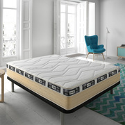 Mattress ECO-DE®  Visco gel Unic 2 carbone ALL SIZES