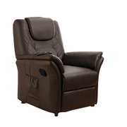 Fauteuil massant ECO-8196 Marrón chocolate ECO-DE®