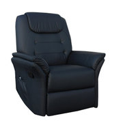 Massage Armchair ECO-DE, ECO-8196 Black