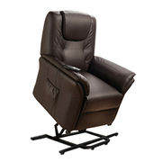 Fauteuil massant releveur ECO-8196UP Marron chocolat ECO-DE®