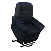 Massage Armchair ECO-DE, ECO-8196Up Black